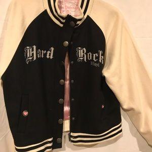 Hard Rock baseball jacket